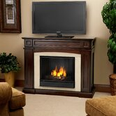 Rutherford 47&quot; Ventless TV Stand with Gel Fireplace