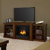 Hawthorne 75&quot; TV Stand with Gel Fireplace
