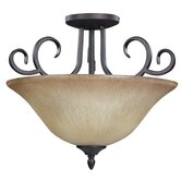 Victoria 3 Light Semi-Flush Mount