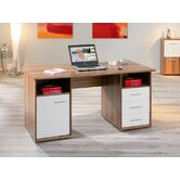 Farini Home Office Double Pedestal Desk