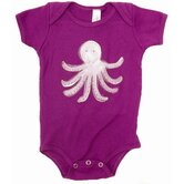 Octopus One-Piece in Purple