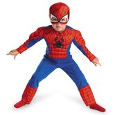 Spider-man Toddler Muscle Costume
