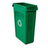 Slim Jim Recycling Container with Venting Channels
