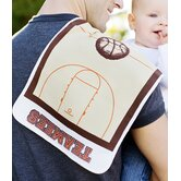 Slam Dunk Basketball Burp Cloth
