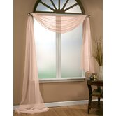 Infinity Sheer Window Scarf Polyester Valance