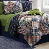 Alligator Reversible Comforter Set