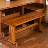 Sedona Rustic Oak Kitchen Bench