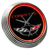 Chevrolet Corvette C5 Neon Clock