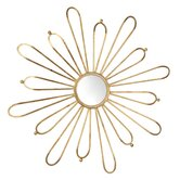 Cleopatra Mirror in Gold