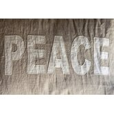 Love and Peace Standard Shams (Set of 2)