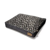 Safari Serengeti Rectangular Dog Bed in Copper / Dark Grey