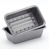 Bakeware 2 Piece Meatloaf Pan Set
