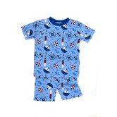 Nautical Nights Organic Short Pajama