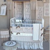 French Farmhouse 'Mille' Full Nursery Crib Bedding Collection