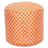 Pillow Perfect Outdoor Ottomans