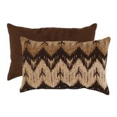 Ikat Chevron Rectangular Throw Pillow