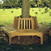 Glenham Hexagonal Tree Bench