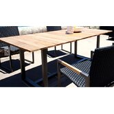 Coast Teak Accent U Frame Dining Table