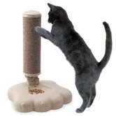 Plastic Feeder and Scratching Post