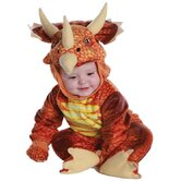 Triceratops Costume in Rust