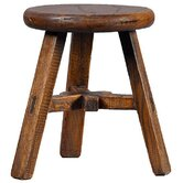 Asian Antique Kid's Stool