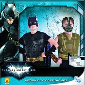 Batman Dark Knight Rises Batman vs Bain Action Duo Box Set