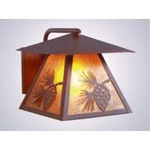 Pinecone Outdoor Wall Lantern