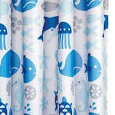 Coast Polyester Textile Shower Curtain