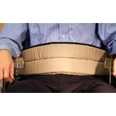 Cushion Belt with Quick-Release Buckle Closure in Beige
