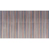 Aquarelle 12&quot; x 18&quot; Ceramic Wall Tile in Blue Insert Stripes