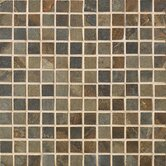 "Jade 1"" x 1"" Decorative Square Mosaic in Sage"