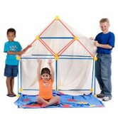 EZ Fort 54 Piece Building Kit