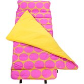 Big Dots Hot Pink Nap Mat
