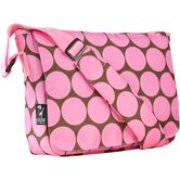 Big Dots Pink Kickstart Messenger Bag