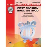 First Division Band Method, Part 1 Drums