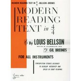 Modern Reading Text in 4/4 For All Instruments
