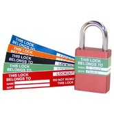 Lock Labels (Pack of 10)