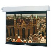 35190L Advantage Electrol Motorized Projection Screen - 90 x 160""