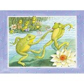 Jitterbugging Frogs Wall Art
