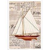 Nautical Motif II Canvas Art