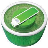 Smart Touch Salad Spinner 4-6 servings in Green