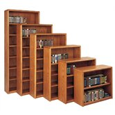 "Contemporary 48"" H Four Shelf Bookcase"