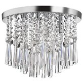 Josephine 4 Light Crystal Flush Mount