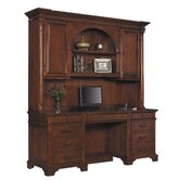 Jones Executive Credenza with Hutch