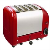 4 Slice Toaster (red)