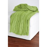 Cable Knit Cotton Throw
