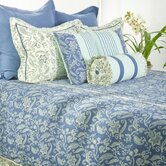 Indigo Bedding Set in Cream / Blue