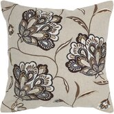 Beige and Brown Decorative Pillow