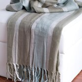 Acrylic Herringbone Throw