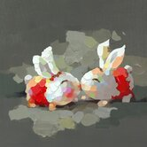 Bunny Kiss Wall Decor